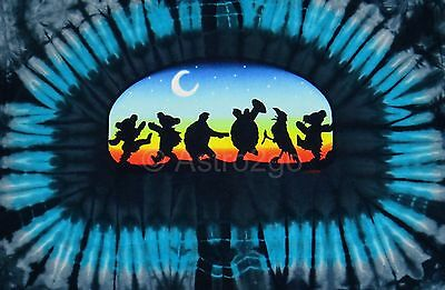 Moondance Tie Dye T-shirt (MOONDANCE TIE DYE-Grateful Dead & Co Animals Crow Terrapin Dancing Bears T)