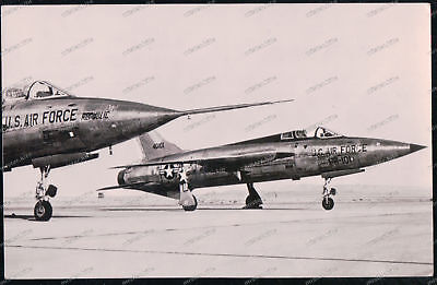 Foto-AK Republic F-105 Thunderchief Flugzeug airplane-