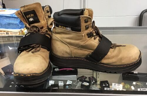 Cougar Paw Roofing Boots MENS Size 10, Style CPPP, Only Wore Couple Times