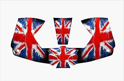 0700000800 Esab Sentinel 50 Welding Helmet Wrap Decal Sticker English Union Flag