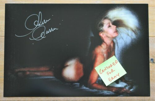 Cherie Currie Super Sexy Artful #1 Signed 11x17 Risque Photo the Runaways