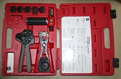 Mac Tools Tct800-ms Master Crimping Tool Set. Crimper Stripper Butane Torch.