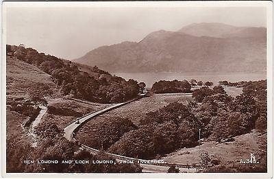 Ben Lomond & Loch Lomond, INVERBEG, Dunbartonshire RP