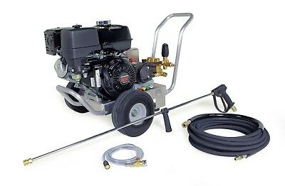 Hotsy Cold Water Pressure Washer 4000 Psi 4-gpm Gas Engine Electric Start Direct