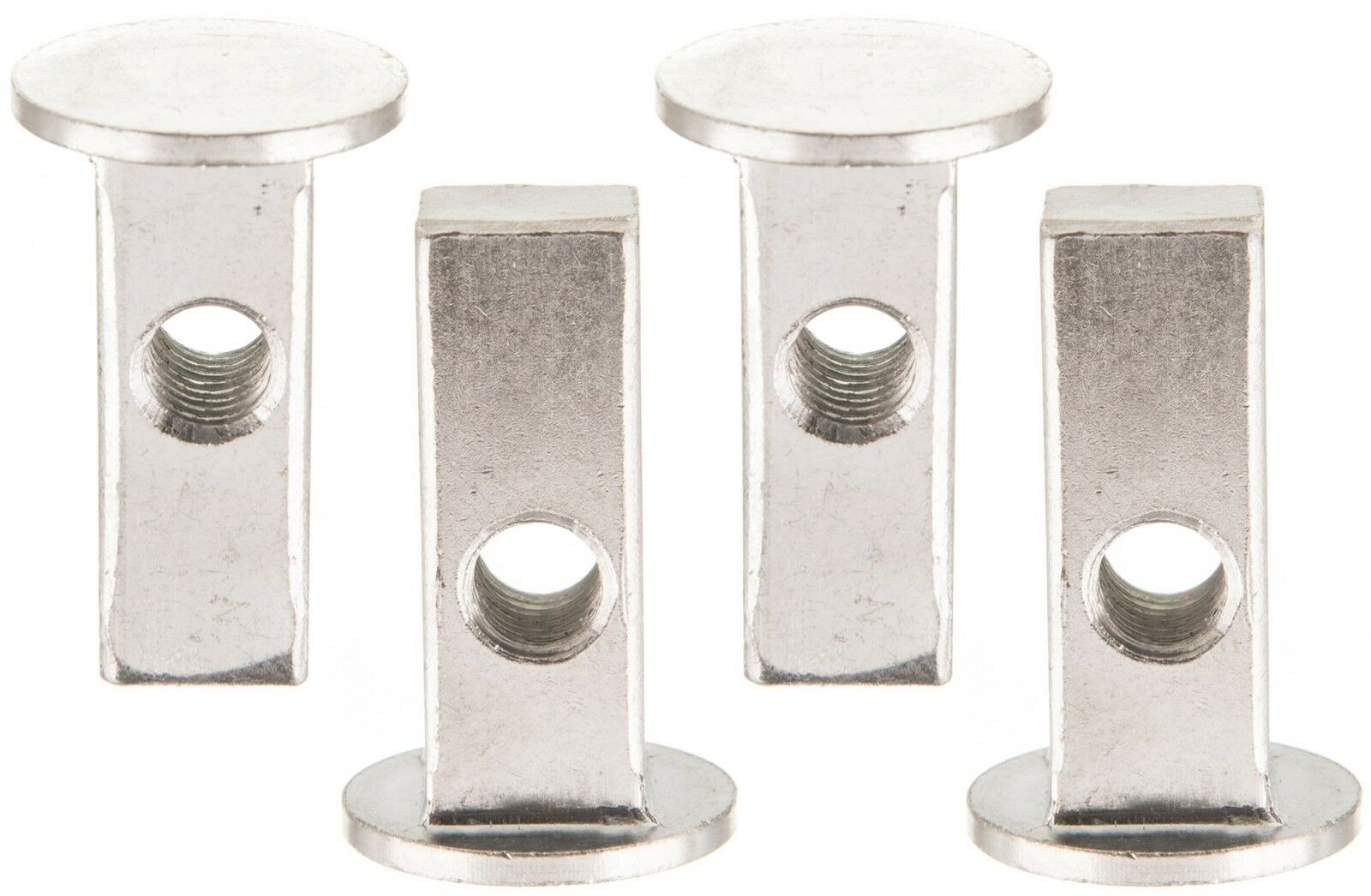 New Replacement Set Of 4 Bed Bunk Bed Bolts 4 Square Nuts Free