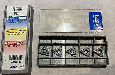 Iscar Carbide Inserts - 16er 27 Nptf Ic908 - Qty. 5 - New