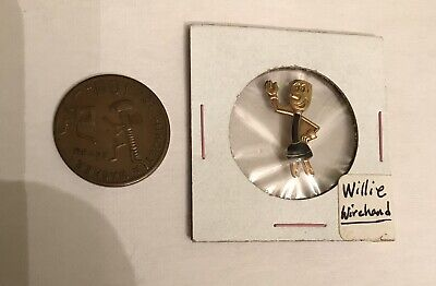 Reddy Kilowatt Willie Wirehand GF Pin + Plug Me In Not Without A Washer Token