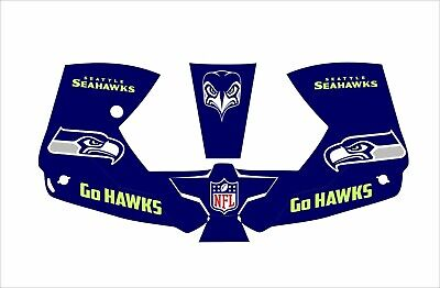0700000800 Esab Sentinel A50 Welding Helmet Wrap Decal Sticker Seahawks Go Hawks