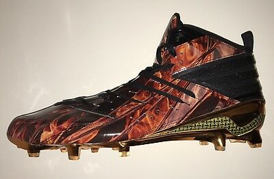 ad89df4b5d85 Adidas Men Freak X Kevlar Football Cleats Shoes Flames - Size 14 US - AQ6840
