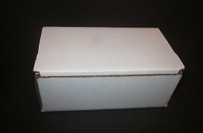 6 X 3 14 X 2 12 Small White Cardboard Packaging Shipping Box  8 Boxes