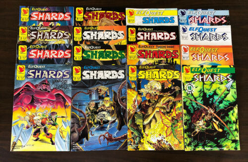 ELFQUEST Shards COMPLETE SET 16 issues NEW (#1 SIGNED)