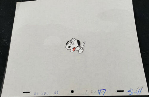 SNOOPY CEL FROM TV SPECIAL