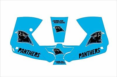 0700000800 Esab Sentinel A50 Welding Helmet Wrap Decal Sticker Panthers Carolina