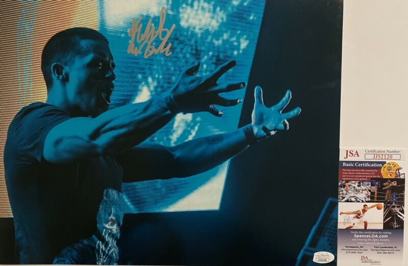 Kai Wachi DJ Signed Autographed 11x14 Photo EDM Producer Demigod JSA COA