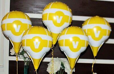 Ballon Drop (5 FORTNITE Inspired Hot Air Mylar Drop Box BALLOONS Party Supplies)