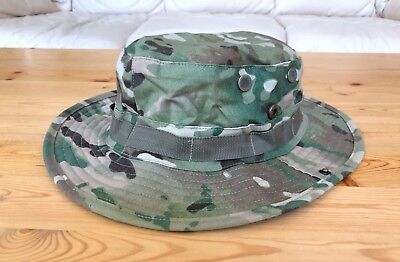a1a71a8de122c Multicam Boonie Hat US Army Woodland BDU Jungle Sun Cap Military 1 Size  Fits All