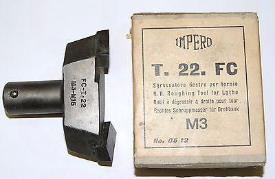 UTENSILE INSERTO TORNIO  SGROSSATORE DESTRO TORNIO LIMATRICE IMPERO T 22 FC M3