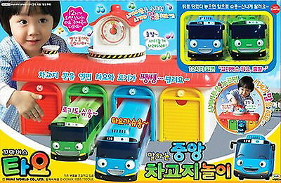 "The Little Bus TAYO ""Main Garage play set"" Talking & Sound Toy Korea animation"