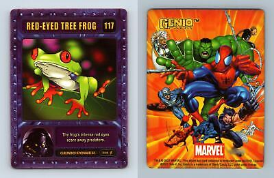 Red-Eyed Tree Frog #117 Marvel Genio 2003 CCG Card