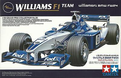 TAMIYA 1:20 KIT WILLIAMS BMW F1 FW 24 GRAND PRIX COLLECTION 55 ART 20055