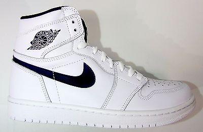 Nike Men's Air Jordan RETRO1 HIGH OG YIN YANG PACK Shoes White 555088-102 a
