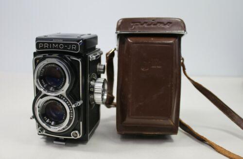 TOPCON Toko Primo Jr 4 X 4 TLR Twin Lens Reflex Film Camera SEIKOSHA MXL F 2.8