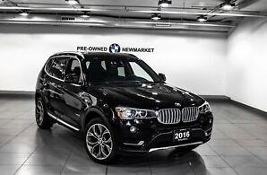 2016 BMW X3 Xdrive28i -Pano Sunroof NAV 