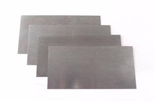 "Clifton 4 Piece Thin Cabinet Scraper Set 3"" x 6"" (.010"", .015"", .020"", .025"")"
