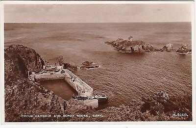 Creux Harbour & Buron Rocks, SARK, Channel Islands RP