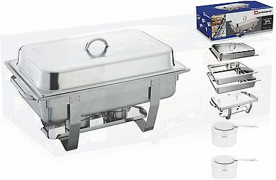 Single Compartment  9L Chafing Dish/By Sq Professional/Top Stainless Steel Single Compartment Dish