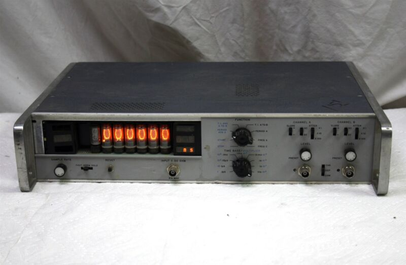 Vintage HP 2 Channel Nixie Tube Frequency Counter, with Options, 5326 Series?