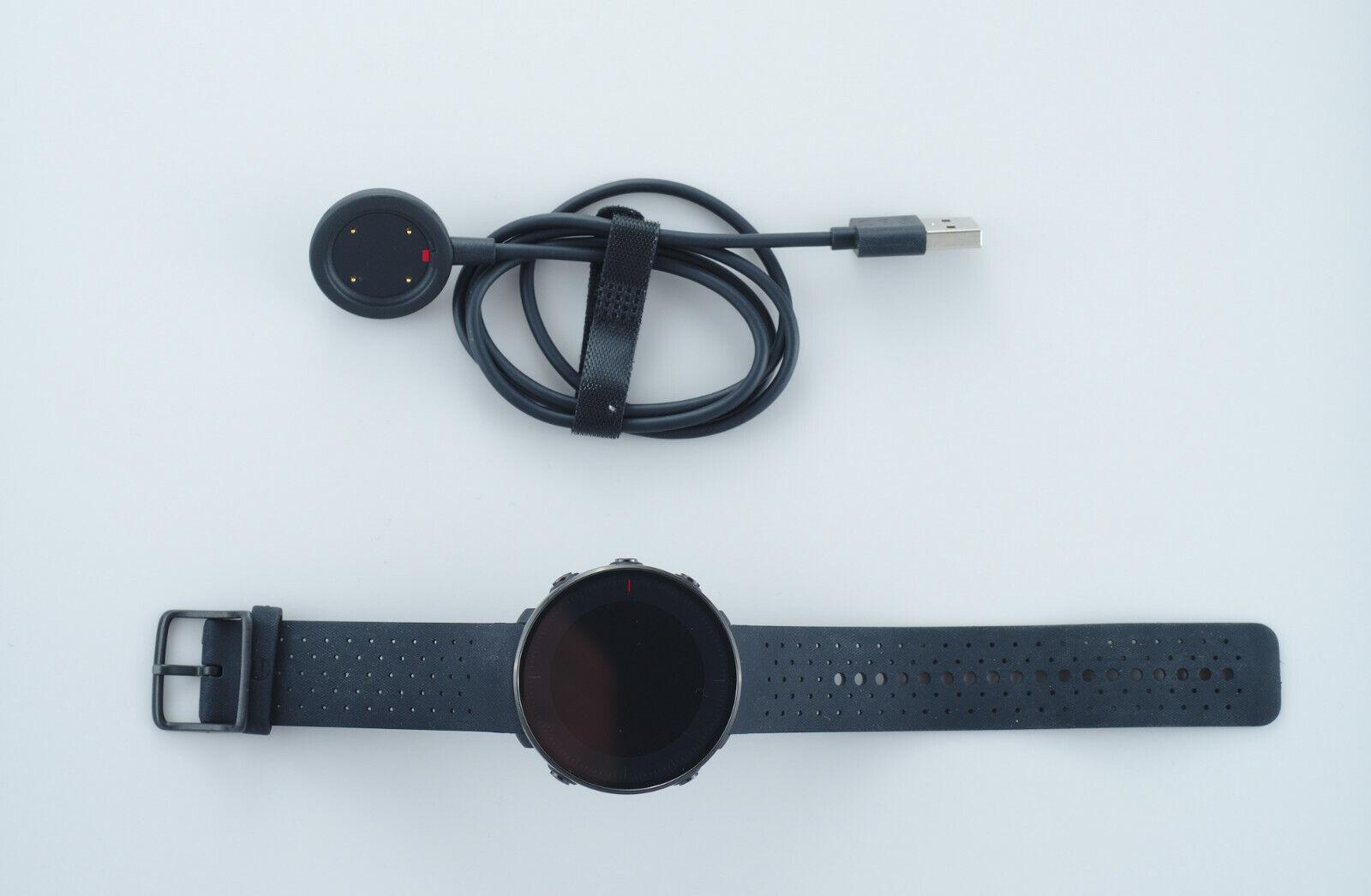 Polar Vantage M - Multisport Watch / GPS Laufuhr - Schwarz - Größe M-L
