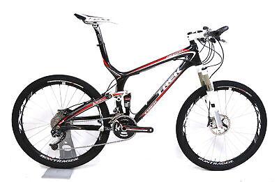 """2009 Trek Top Fuel 9.9 SSL Carbon FS Mountain Bike L / 18.5"""" 2 x 9 Speed 26"""""""