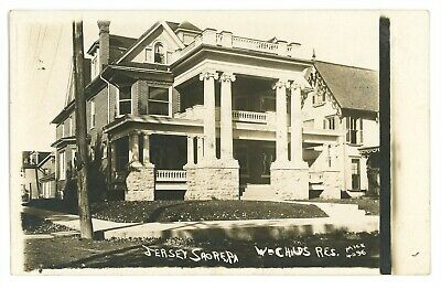 RPPC Childs Residence JERSEY SHORE PA Lycoming County Mick Real Photo (Jersey Shore Kids)