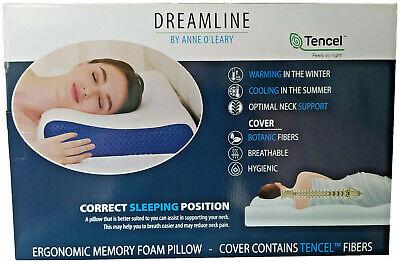 Ergonomisches Kissen 60 x 70 cm Memory Kopfkissen Premium Hotel Qualität