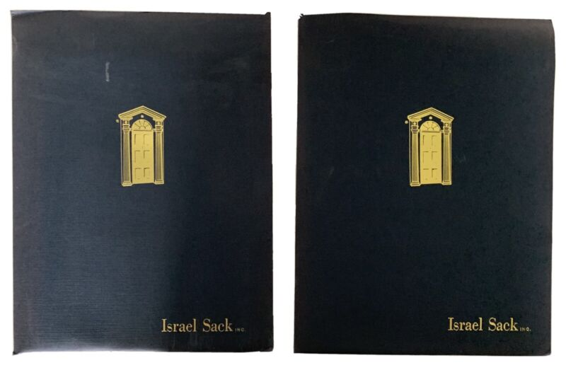 S/3 Israel Sack American Furniture Oportunities Catalogues, Photos,Descriptions