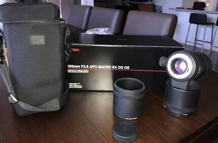 Sigma 150mm f/2.8 EX DG OS HSM APO Macro Lens Nikon Mount