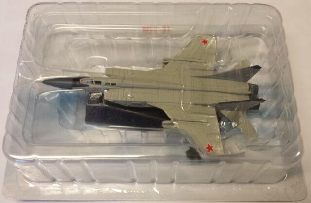 MiG-31, Finshed Model Metal, Legendary Aircraft, De Agostini, NEW