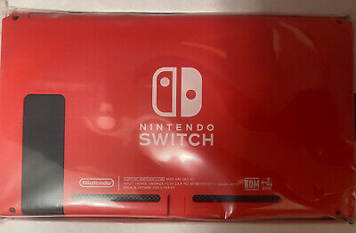 Nintendo Switch Limited Edition Red Console Tablet Only