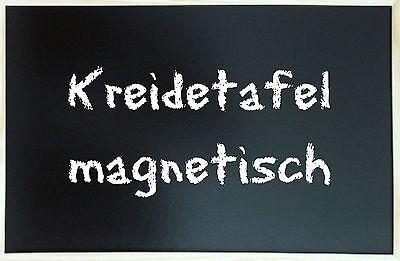 Kreidetafel Schultafel MAGNETISCH 80 x 120 cm Tafel Pinnwand Magnettafel Holzrah