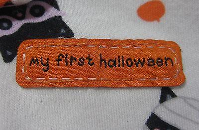 Baby's 1st First L/S Halloween Romper Sleeper w Slipper Like Feet 0-3 Months - 0-3 Month Halloween Costumes