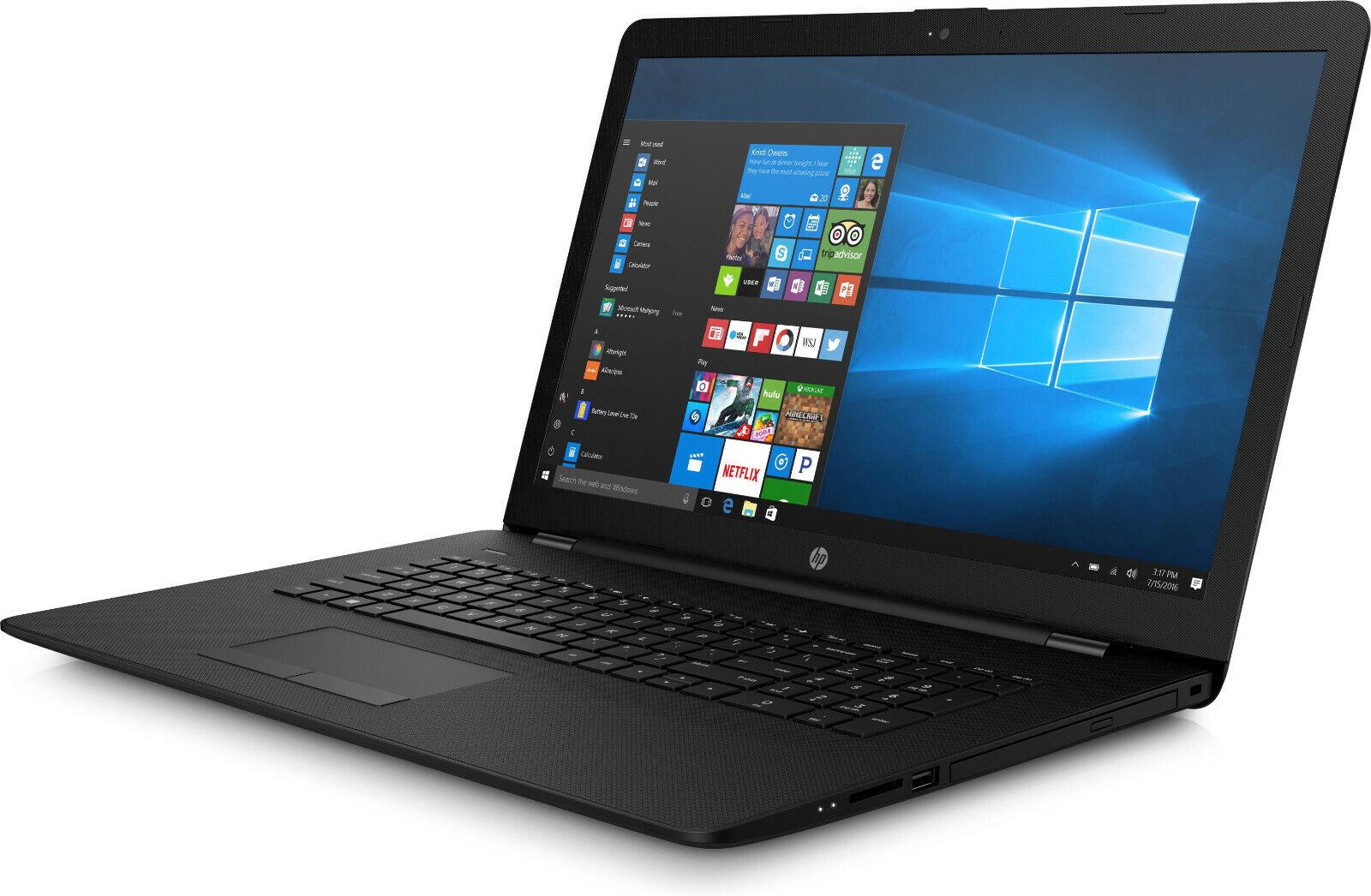 HP Notebook 17-BS547NG Pro DID 1 TB 1000 GB Läuft 17 Zoll Profi HP Laptop Tasche