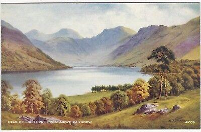 Artist Drawn,The Head Of Loch Fyne, CAIRNDOW, Argyllshire - Ed. H. Thompson