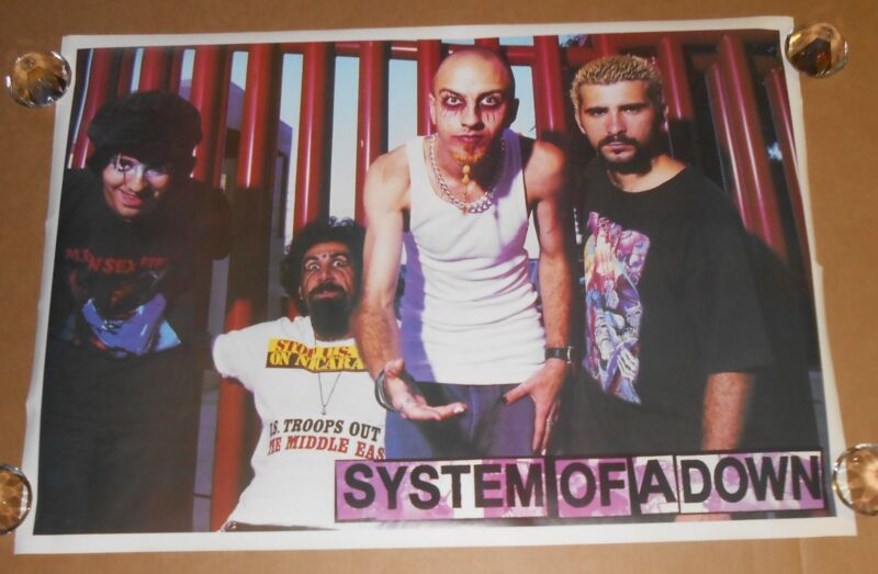 System of a Down Poster 25x36