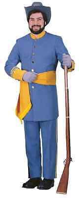 e Civil War Confederate Soldier Halloween DLX Adult Costume (General Lee Kostüm)