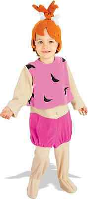 Pebbles Flintstones Cave Girl Pink Fancy Dress Halloween Toddler Child Costume