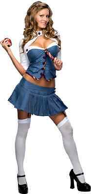 Night School Girl Naughty Student Fancy Dress Up Halloween Sexy Adult Costume - Naughty School Girl Halloween Costumes