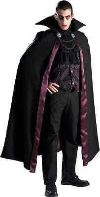Vampire Dracula Gothic Count Rental Fancy Dress Halloween Deluxe Adult Costume](Costumes Rentals)
