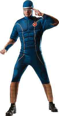 Cyclops X-Men Marvel Comics Superhero Fancy Dress Up Halloween Adult Costume