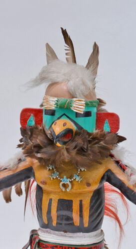 Large Antique Hopi Eagle Kachina, Marcus Nehee Circa 1974    18 1/4 inches